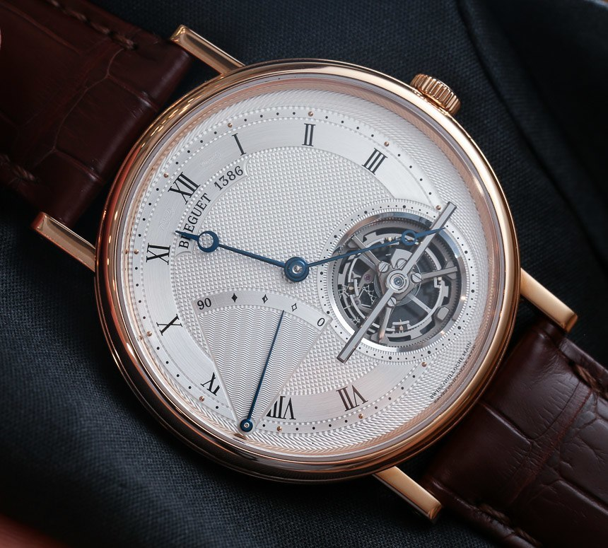 The new Classique series 5377 Breguet Tourbillon Watch