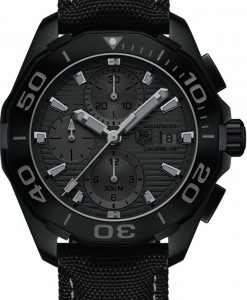 "TAG Heuer Replica Aquaracer 300m Ceramic ""Black Phantom"" and Other New Models Replica Watches"