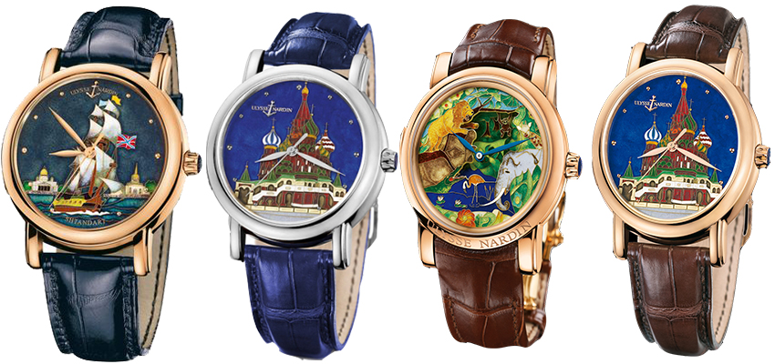 Buy Best Quality Ulysse Nardin Kremlin Replica Watches Online Sale