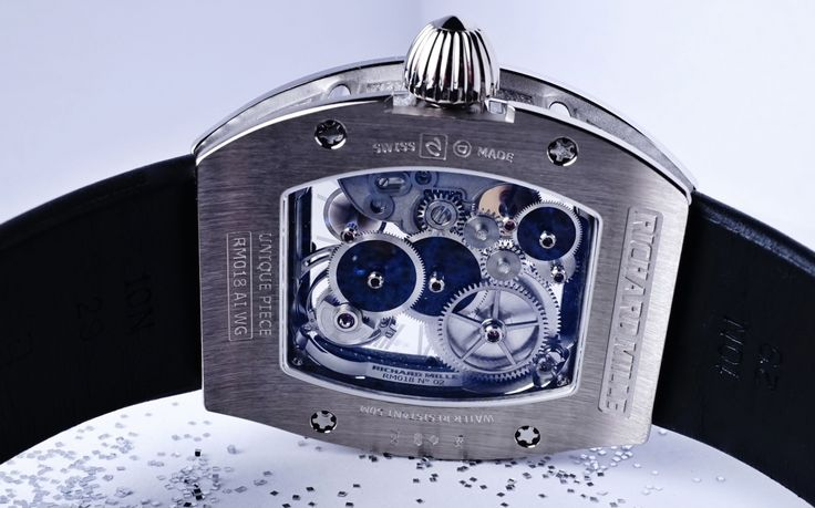 The Best Richard Mille RM 018 Boucheron Tourbillon Replica Watch