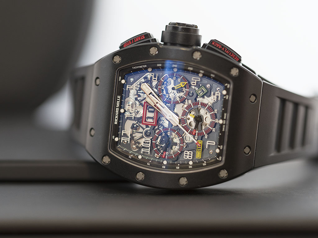 Show You The Latest Richard Mille RM-011 Felipe Massa FlyBack Chronograph Replica Watch
