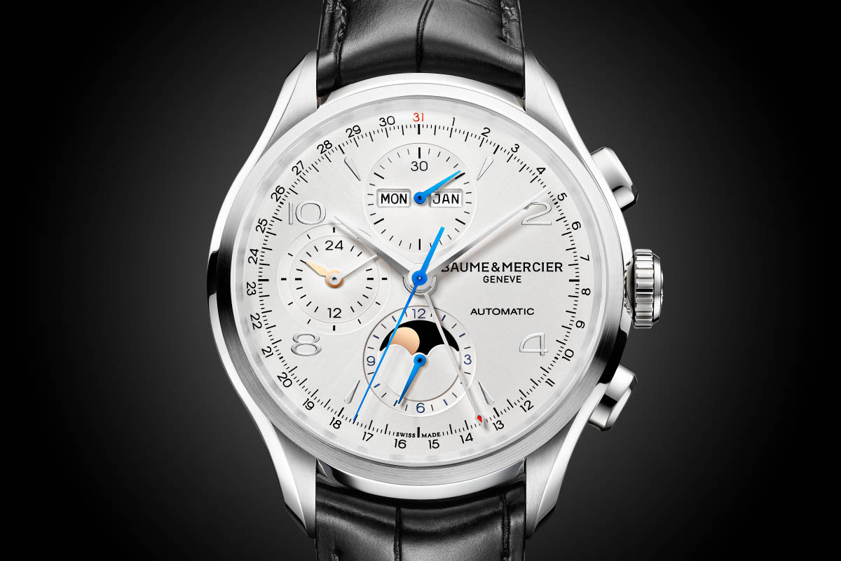 Reviewing The Elegant Swiss Baume & Mercier Clifton Chronograph Complete Calendar Replica Watch