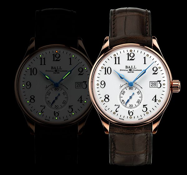 Presenting The Ball Trainmaster Standard Time Mens Replica