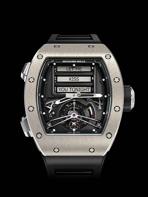 Richard Mille Tourbillon RM-69 - front_dial