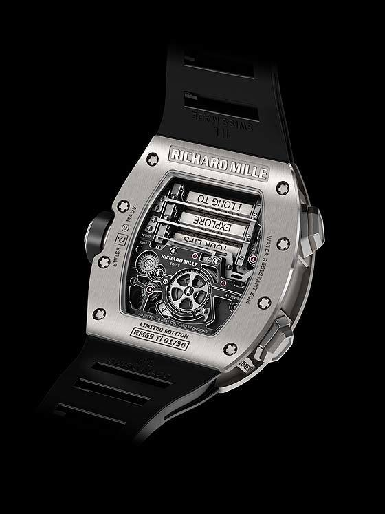 Richard Mille Tourbillon RM-69 - back