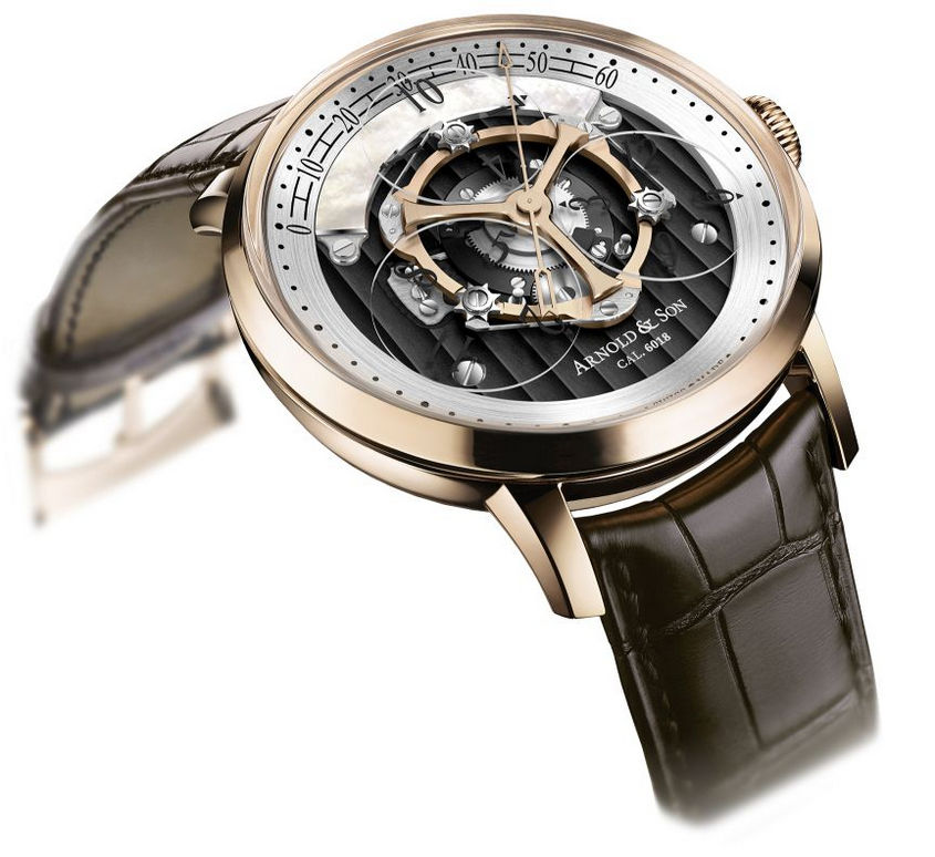 Arnold & Son With 18kt Golden Wheel 44mm Case Replica