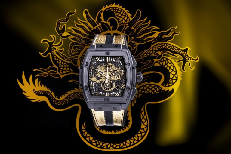 Hublot Classic Design Lines:The Spirit Of Big Bang Bruce Lee Replica
