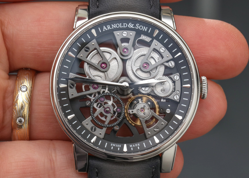 We Take A Closer Look At Arnold & Son Nebula Replica Watch
