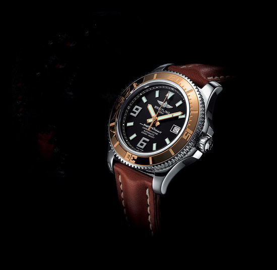 Show You The Breitling Superocean Waterproof To 2000 Meters 44mm Case Replica