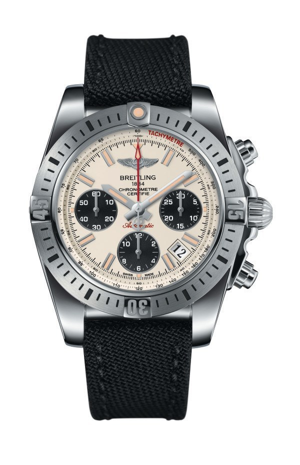On the Wrist:Breitling Chronomat Airborne With Black Rubber Strap Replica