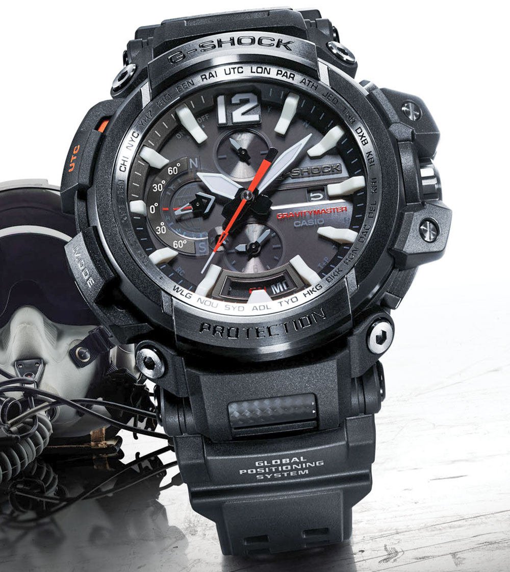 Casio G-Shock Gravitymaster GPW2000-1A GPS Bluetooth Connected Men's Replica