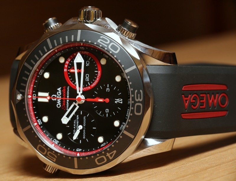 On the Wrist:Omega Seamaster Diver 300M Co-Axial Chronograph ETNZ Replica