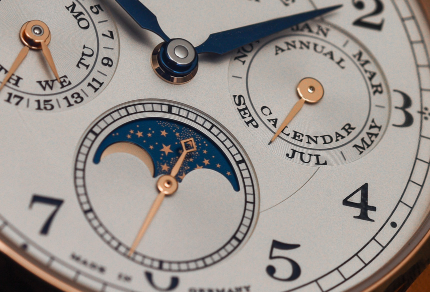 A. Lange & Söhne 1815 Annual Calendar Watch Hands-On Hands-On
