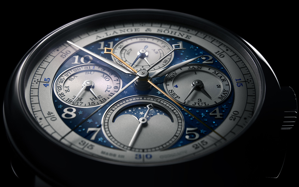 A. Lange & Söhne 1815 Rattrapante Perpetual Calendar Handwerkskunst & Blue Series Watches Watch Releases