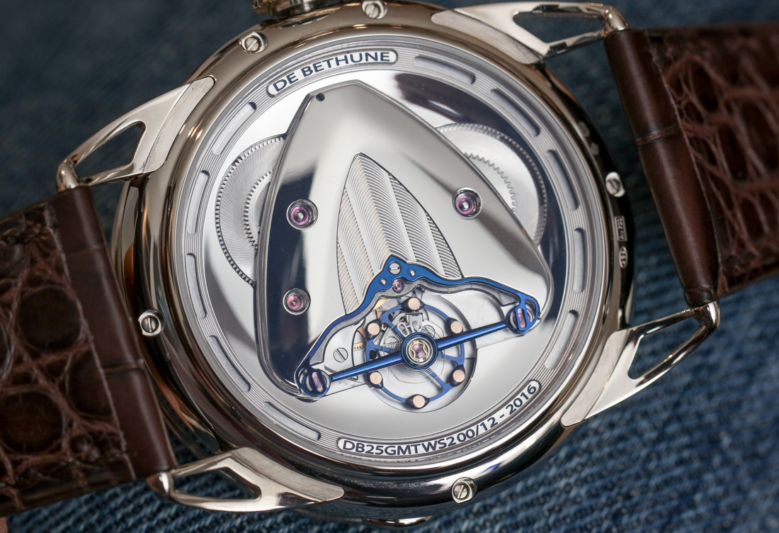 De Bethune DB25 World Traveller Watch Hands-On Hands-On