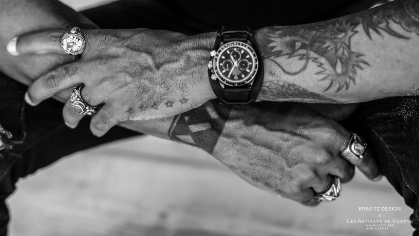 Les Artisans De Genève X Kravitz Design LK 01 Customized Rolex Daytona Watch Designed By Lenny Kravitz Watch Releases