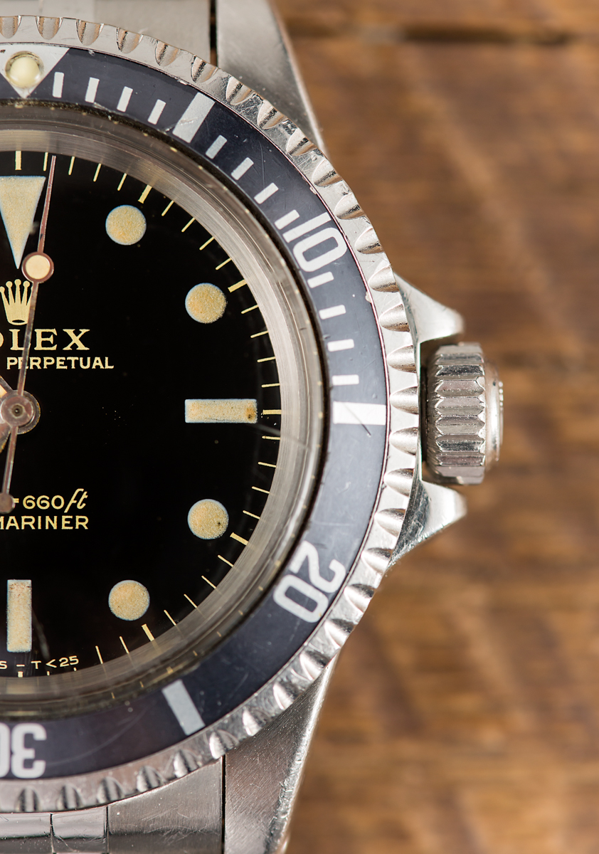A Do Rolex Watches Lose Value Replica Submariner Ref. 5513 Gilt Dial Watch Purchased To Impress A Prince Hands-On Submariner
