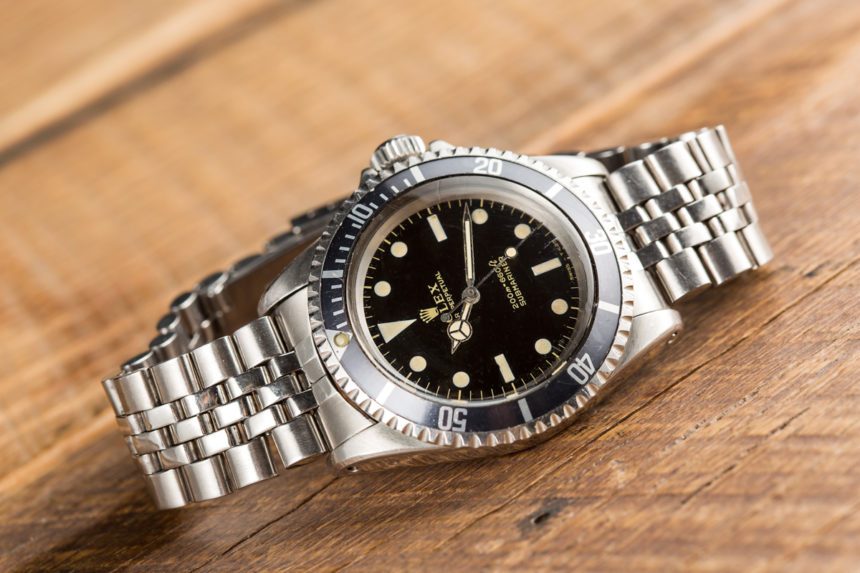 A Rolex Watches Jersey Replica Submariner Ref. 5513 Gilt Dial Watch Purchased To Impress A Prince Hands-On Submariner