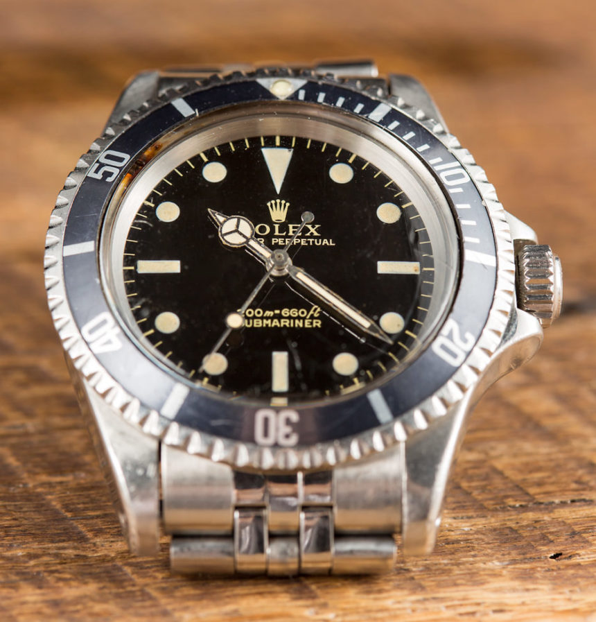 A Rolex Watches 24 Replica Submariner Ref. 5513 Gilt Dial Watch Purchased To Impress A Prince Hands-On Submariner
