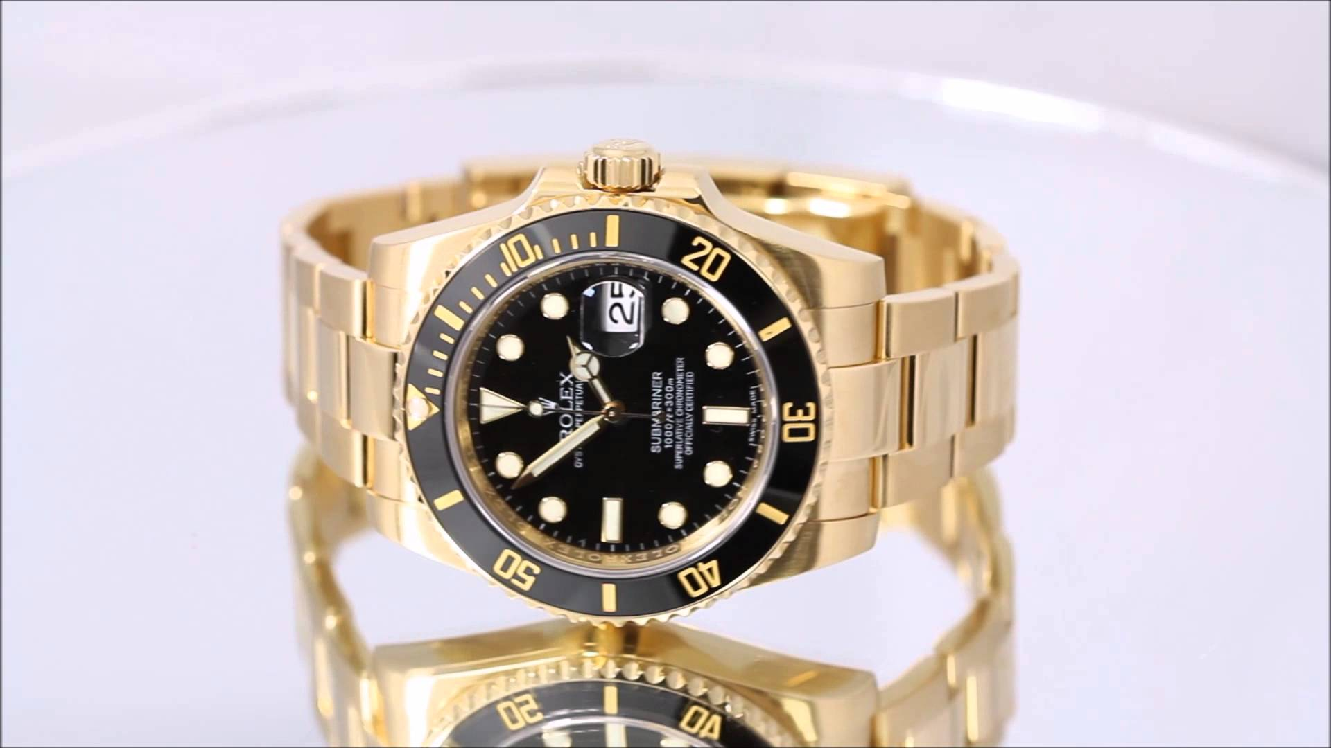 Rolex watch Submariner Gold Fake Watch Review