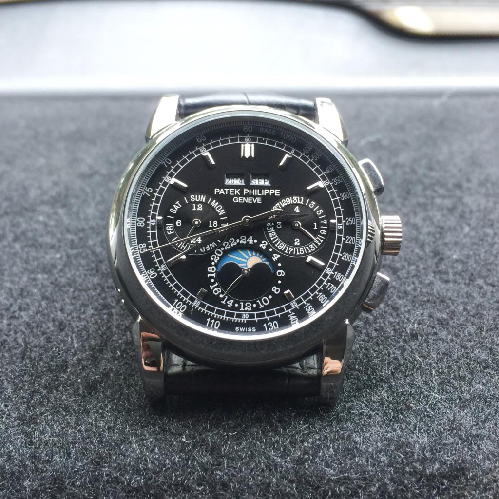 Patek Philippe Perpetual Chronograph Replica Watch