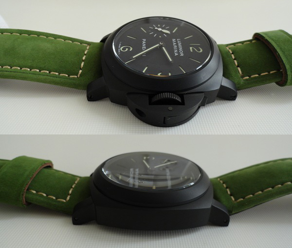 Photo Review – Panerai Luminor Black Ceramic Fake Watch