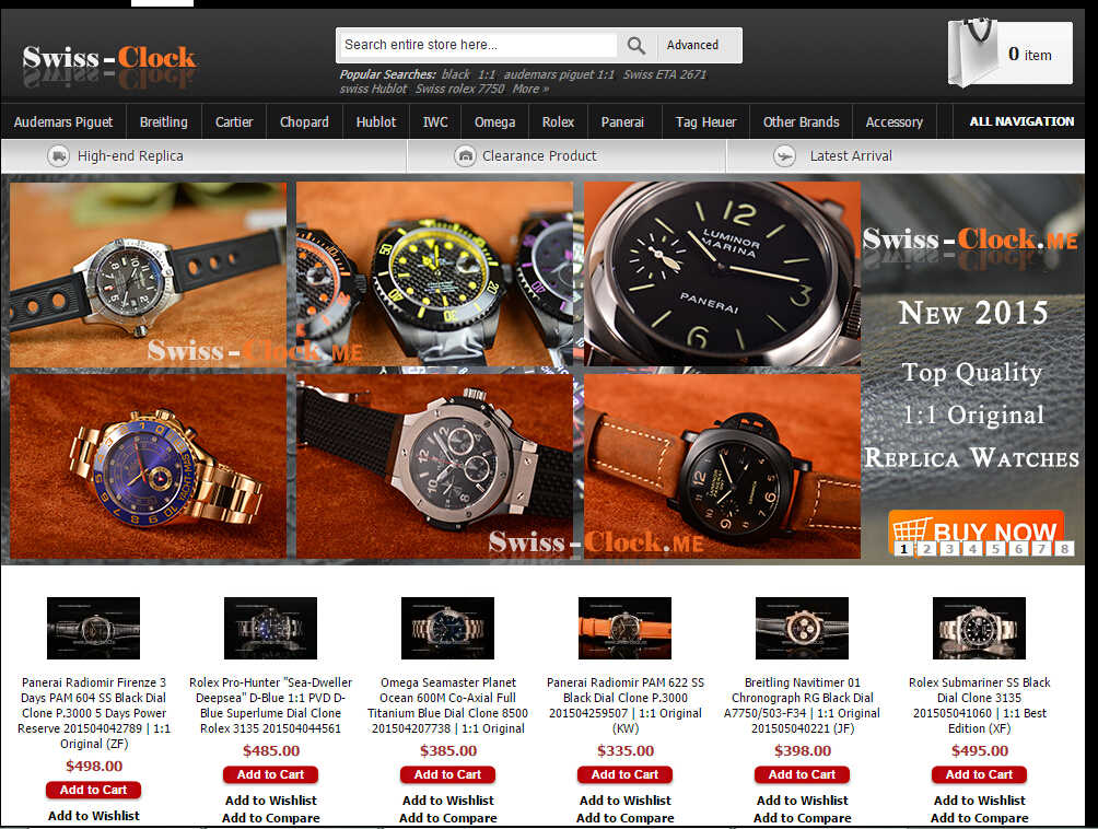 Swiss-clock.me – A Site Specializing in Selling Replica Watches