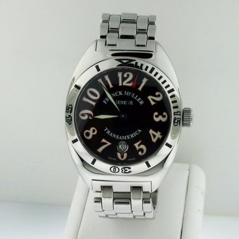 Franck Muller Automatic Stainless Steel Round Watches 2000