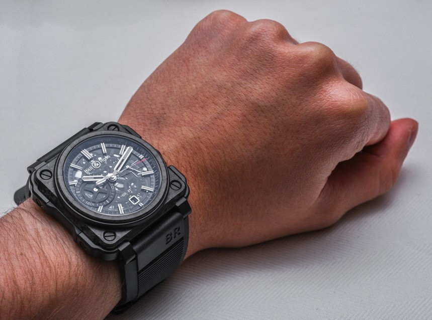 Luxury Automatic Watch -- Bell & Ross BR-X1 Carbon Forge Replica Watch Review