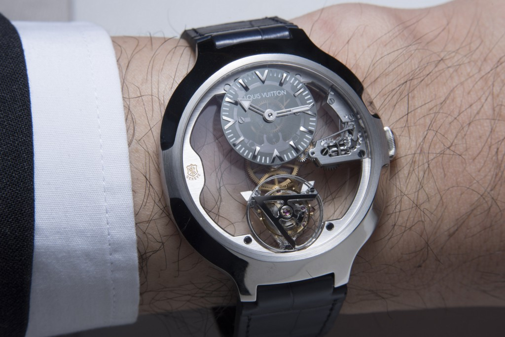 Hands-On with the Louis Vuitton Lightly Flying Tourbillon Poincon de Geneve Replica Watch