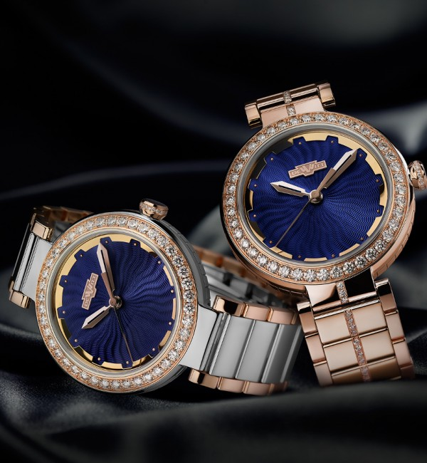 Introducing The Charming And Delightful DeWitt Blue Empire Replica Ladies' Watch