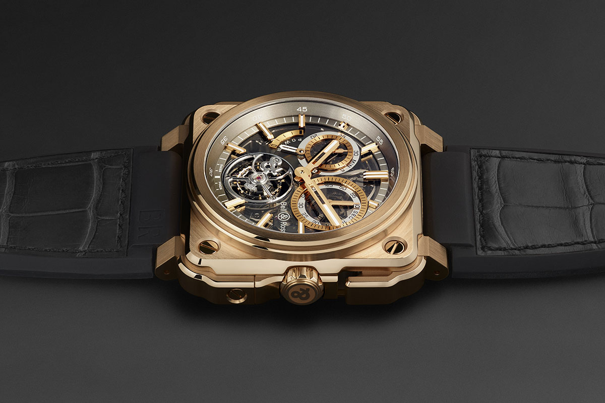 Bell and Ross BR-X1 Chronograph Tourbillon Monopusher Replica