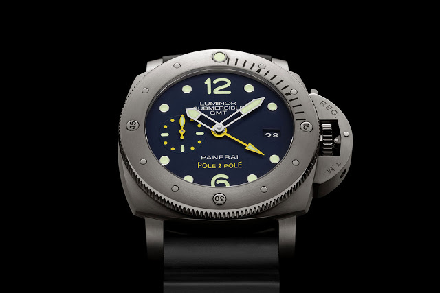 Panerai Luminor Submersible 1950 3 Days GMT Pole2Pole PAM719 Replica