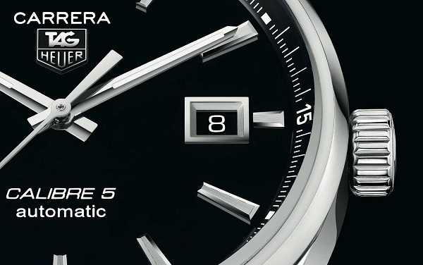 A Review Of Tag Heuer Carrera Calibre 5 Automatic Watch With 39mm Case Replica