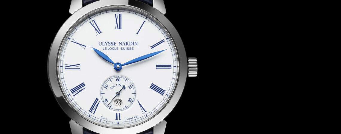Ulysse Nardin Classico Manufacture With Steel Case And Enamel Dial Men's Replica