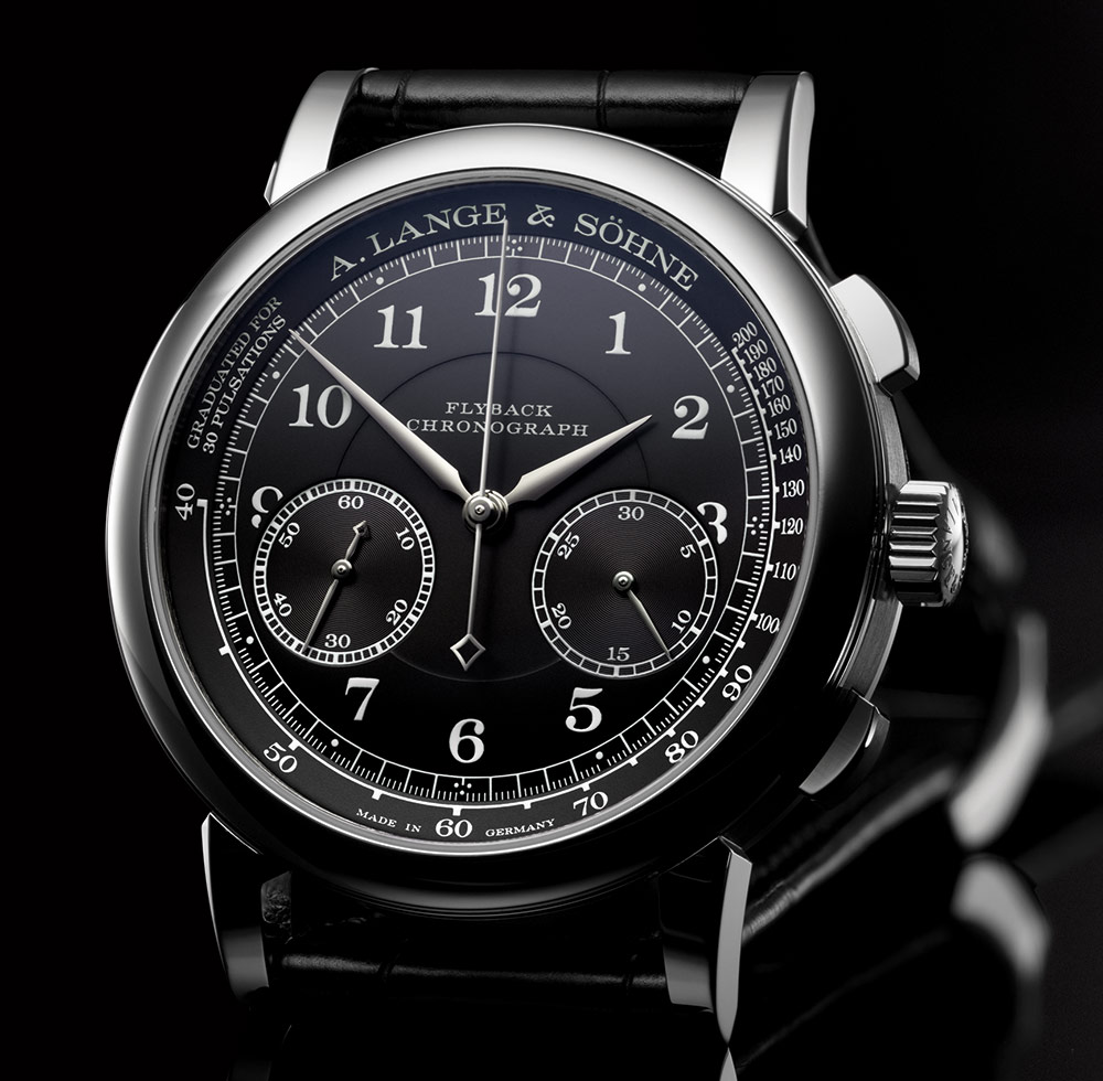 Can I Buy A. Lange & Söhne 1815 Chronograph Watch With Black Dial Replica Watches Free Shipping