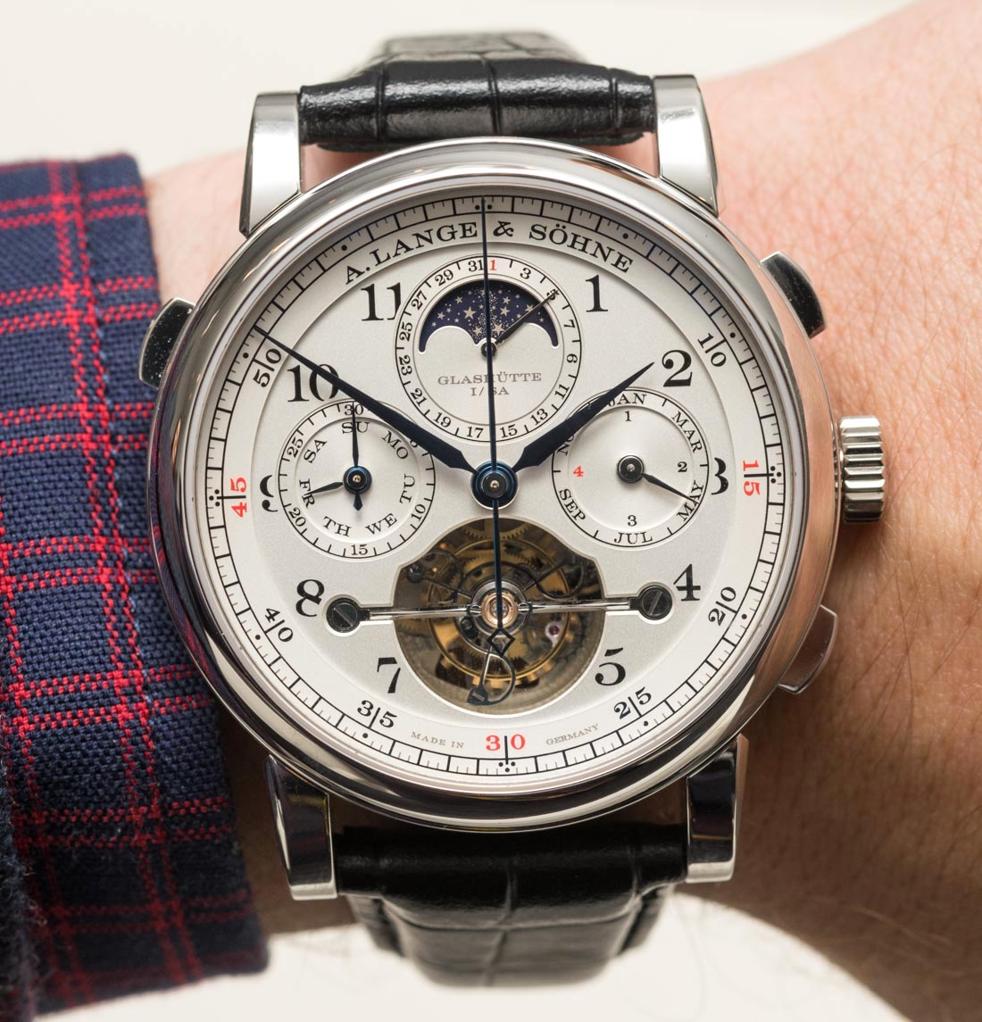 Luxury A. Lange & Söhne Tourbograph Perpetual 'Pour Le Mérite' Watch Hands-On Replica Watches Free Shipping
