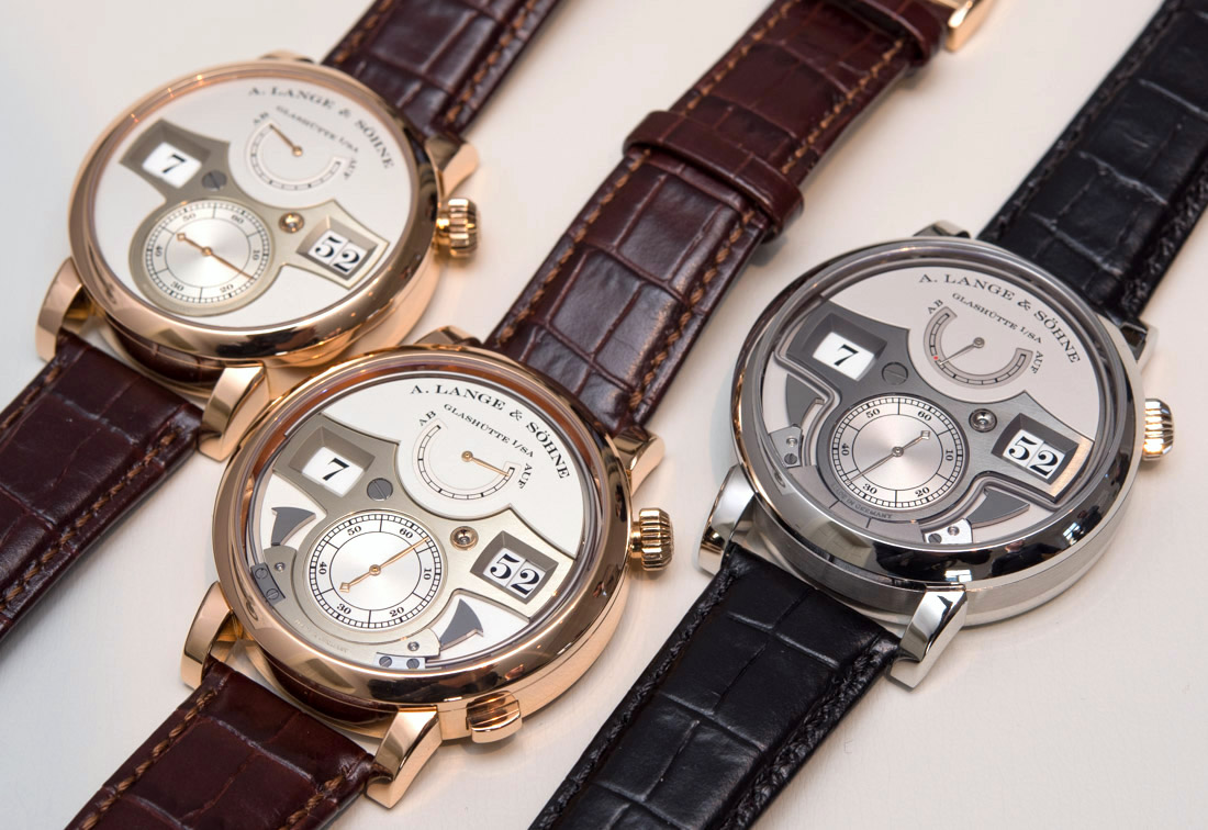 High Grade Three Incredible A. Lange & Söhne Zeitwerk Watches Hands-On Replica Watches Young Professional