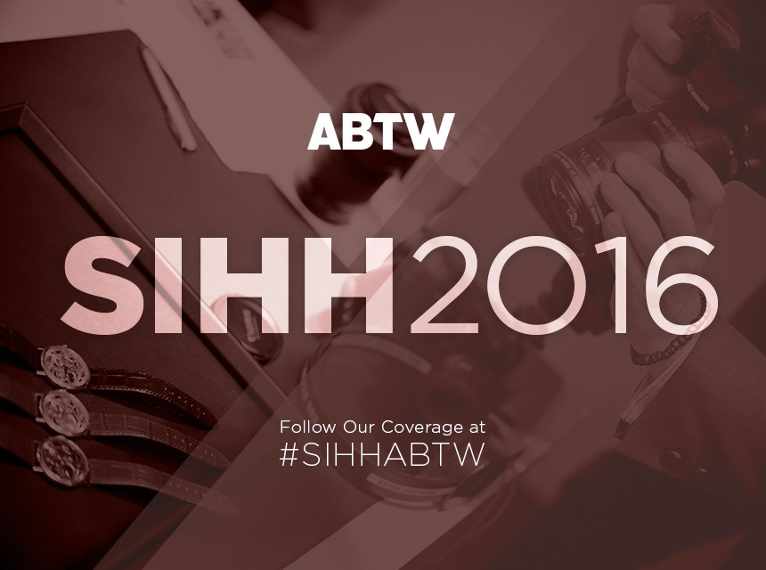 Wholesale Famous Follow aBlogtoWatch At The SIHH 2016 Watch Show January 18-22 With #SIHHABTW Low Price Replica