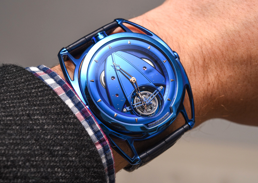 Trusted De Bethune DB28T Tourbillon 'Kind Of Blue' Watch Replica Watches Buy Online