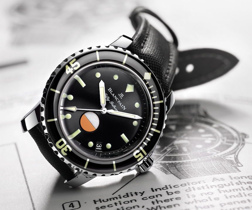 Blancpain Tribute To Fifty Fathoms Mil-Spec Watch Replica Suppliers