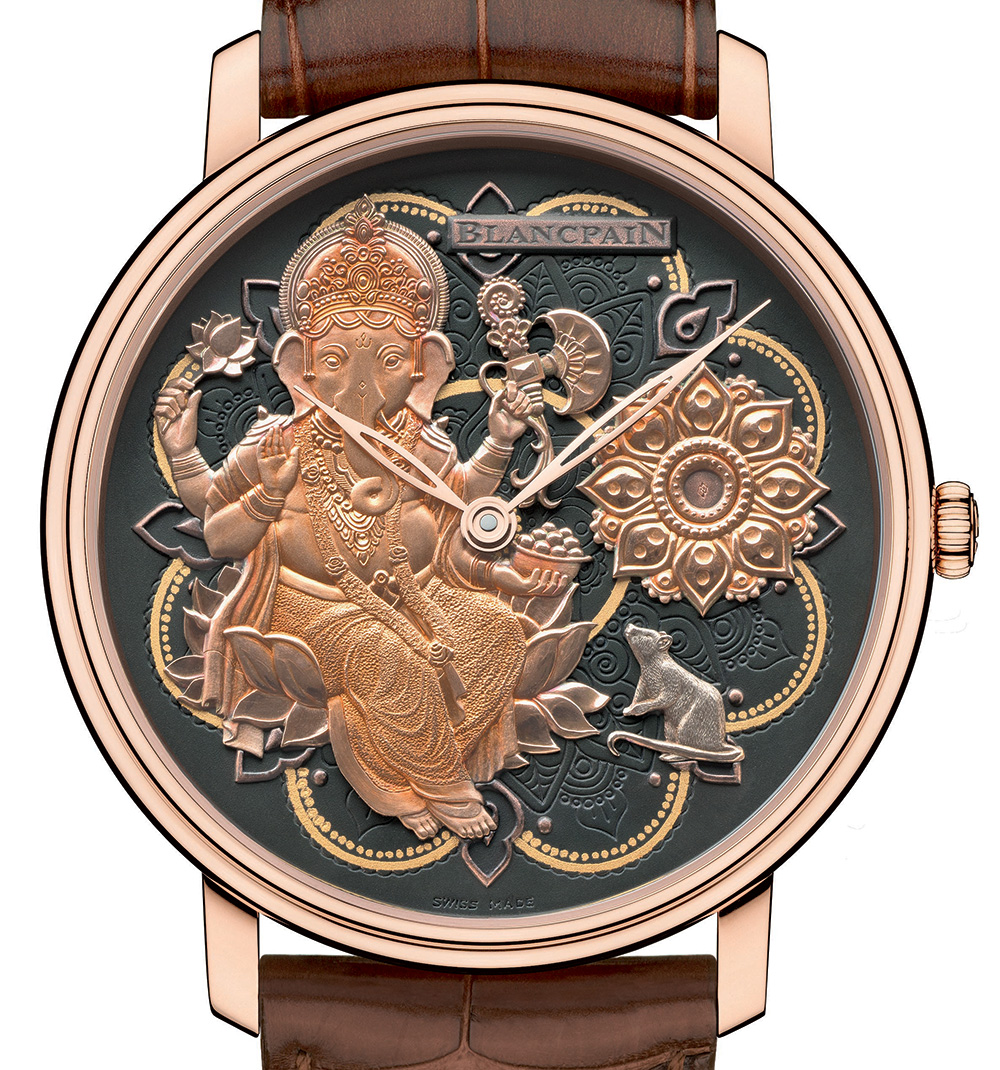 Blancpain Villeret Métiers D'Art Ganesh Watch Japanese Movement Replica