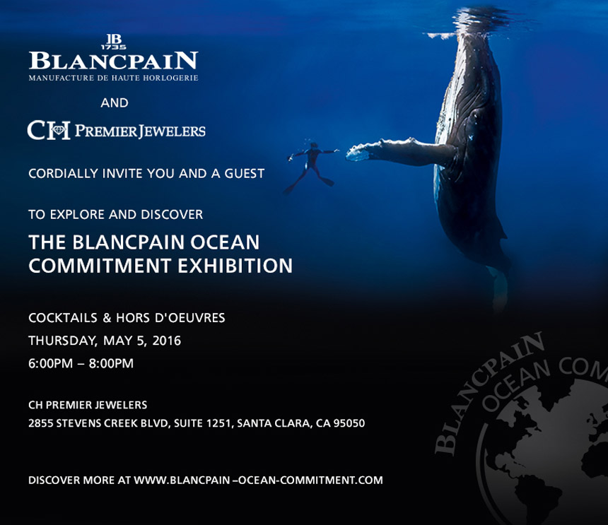 Blancpain Ocean Commitment Event At CH Premier In Santa Clara May 5, 2016 Grade 1 Replica Watches