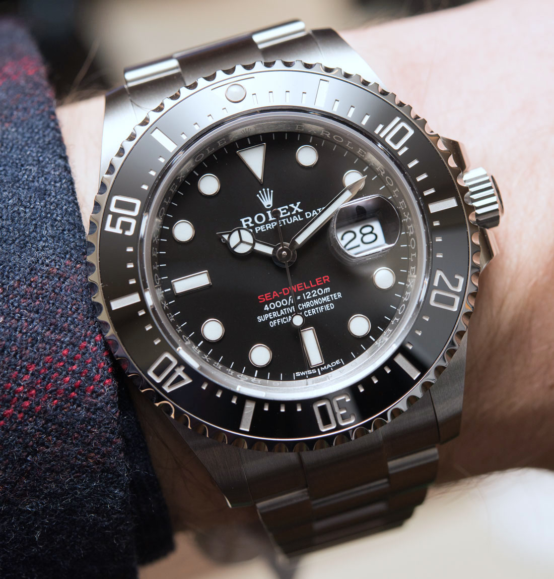 Rolex Sea-Dweller 126600 Watch Marks Anniversary Of The Sea-Dweller Replica Clearance