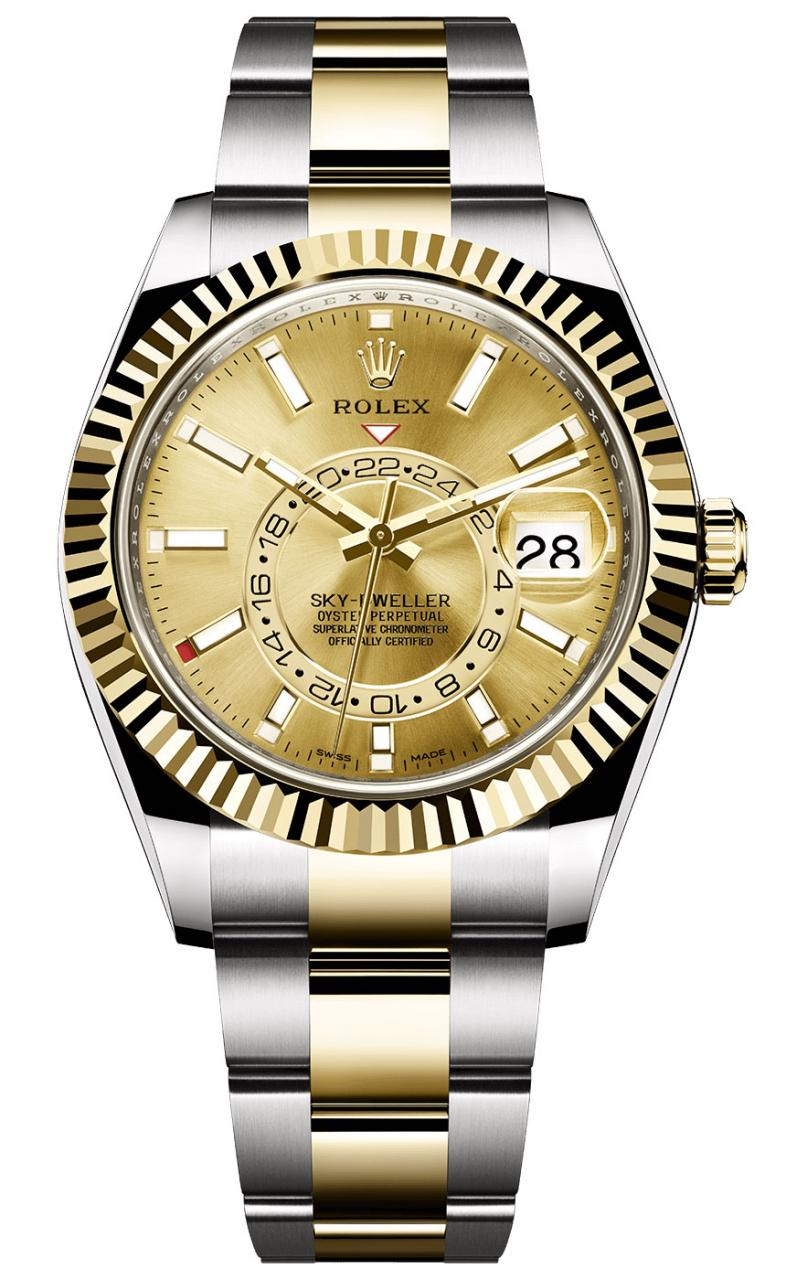 Rolex Sky-Dweller Rolesor Watches For 2017 With Accessible Prices Replica Watches Buy Online