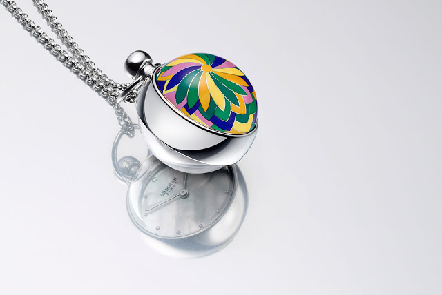 Replica Buyers Guide Introducing a Spherical, Enamelled Pendant Watch from Hermès