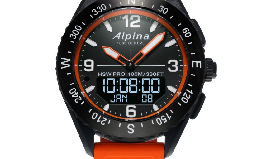 Alpina AlpinerX Outdoors Swiss Movement Replica Smartwatch